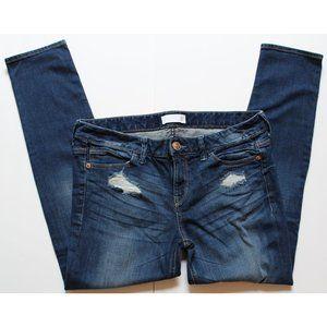 Express Modern Boyfriend distressed jeans